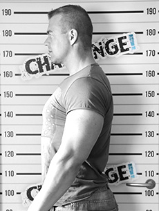 Bodybuilder's Fall